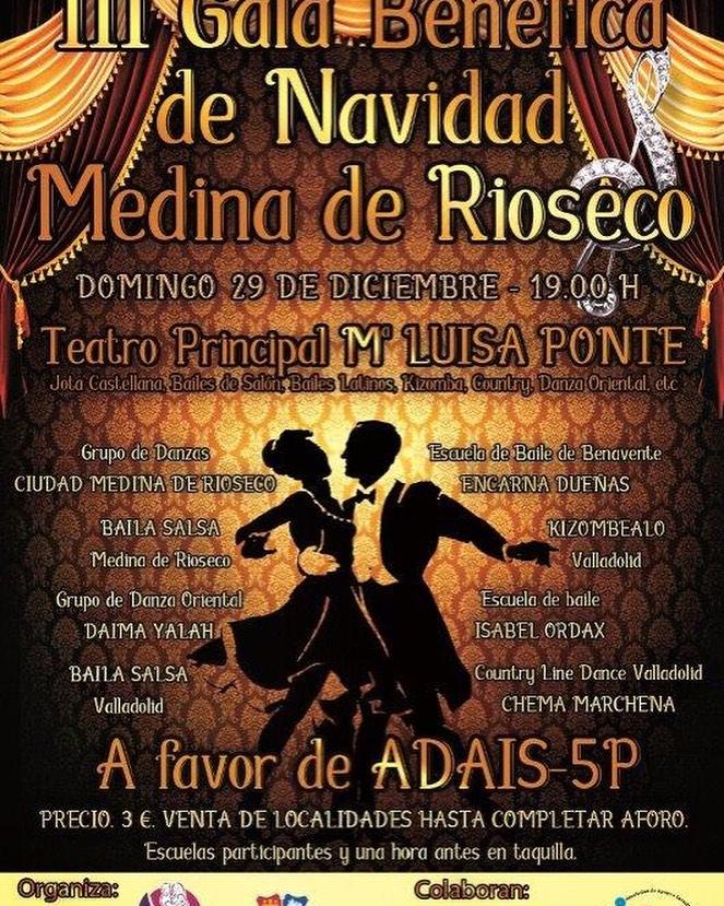 Gala a beneficio de ADAIS 5p- en Medina de Rio Seco