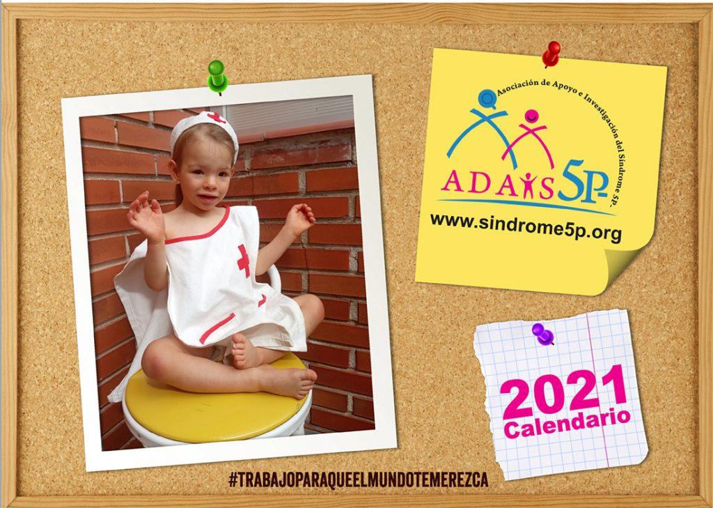 Calendario solidario 2021 sindrome 5p