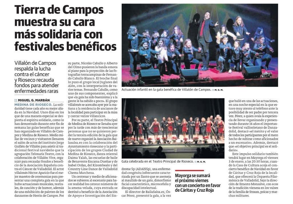 noticia Gala a beneficio de ADAIS 5p- en Medina de Rio Seco
